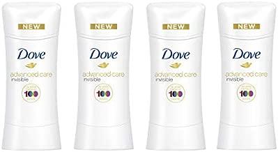 Dove Antiperspirant For Sweat Block Sheer Fresh 48-Hour Deodorant Protection 2.6 oz 4 count