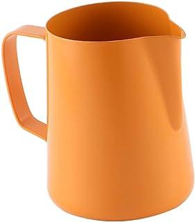Anbau Latte Art Milk Frothing Pitcher Milk Chocolate Milk Espresso Jug Orange