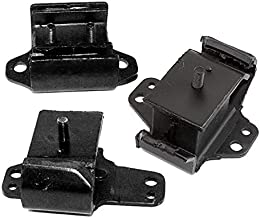 ONNURI For 1998-2004 Nissan Frontier 2.4L 2WD Engine Motor & Trans Mount Set 3pcs : A7318, A2718, A7334 - K2027
