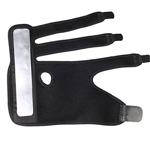 NiceJoy Trigger Finger férula de 3 Dedos Soporte Ajustable de la Mano Derecha Brace Wist del inmovilizador para el Alivio del Dolor