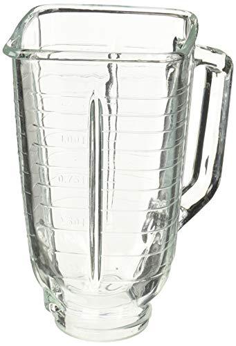 Ersatzglas für Oster & Osterizer mit quadratischer Oberseite, 5 Tassen