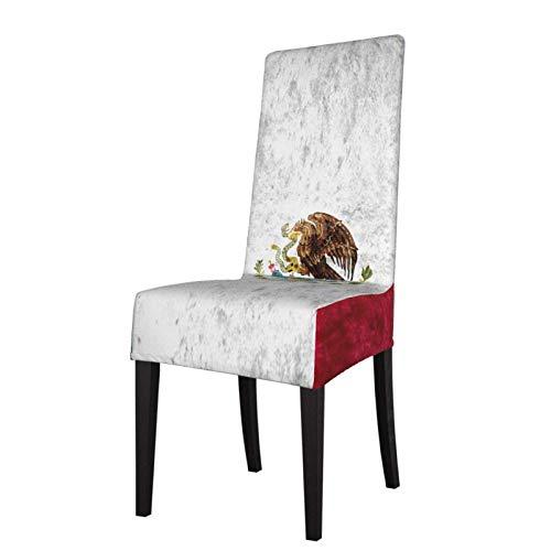 Textura Envejecida de la Bandera de México, Fundas para sillas de Comedor de Oso de la República de California, se Ajustan a Las Fundas