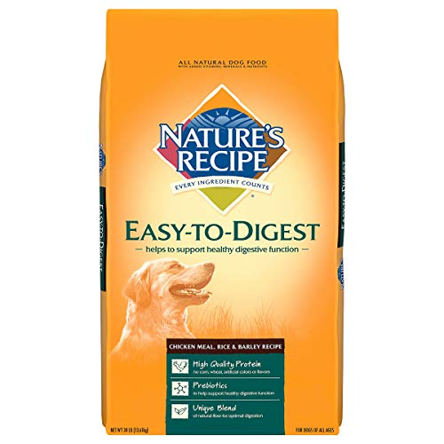 Nature's Recipe Easy to Digest Dry Dog Food,...