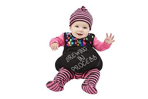 Smiffys Witch Brewing In Process Bruja beb en proceso de preparacin, color morado, Baby-Age 9-12 Months (64019B4)