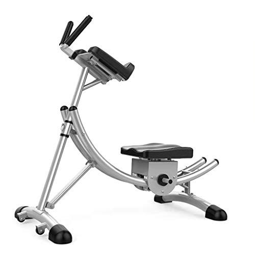 Stretching Abdominal Trainer AB Fitnessgerät, geeignet für das Krafttraining für Männer und Frauen zu Hause Krafttraining Bauchmuskeln Faltbare Fitnessgeräte (Color : Black, Size : 36 * 105 * 115cm)