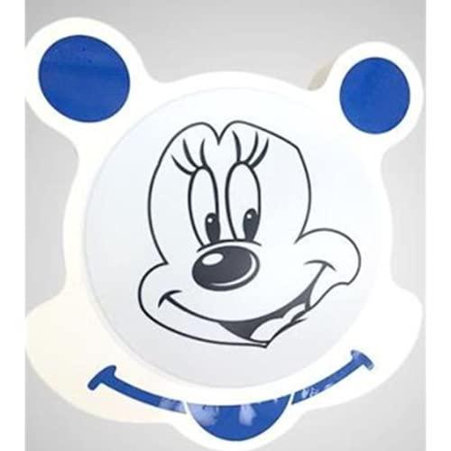 Plafón Led De Techo Niñas Niños Dormitorio,Lámpara De Techo Regulable Para Habitación Infantil,53 * 51 Cm Blue White Light 24W Lámpara De Acrílico De Dibujos Animados De Mickey Mouse