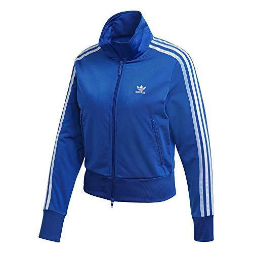 adidas Firebird TT Sweatshirt, Damen S königsblau/weiß