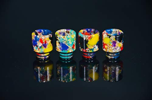 GFV Replacement Resin 510 Drip Tip for Mod Machine(Random Color)-2Pcs