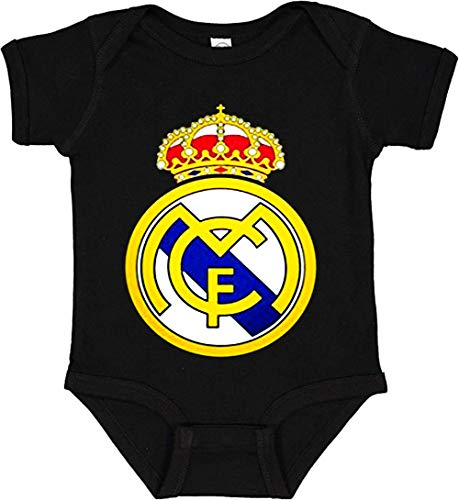 Ouyan Real Madrid Soccer Football Baby Bodsuits Baby Bodsuits Short Sleeve