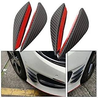 BuyBack® 4Pcs Air Knife Carbon Auto Front Bumper Protector Lip Splitter Styling for - Hyundai Car's