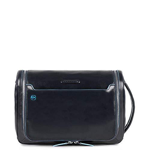 Piquadro Blue Square Beauty Case, 30 cm, Nero