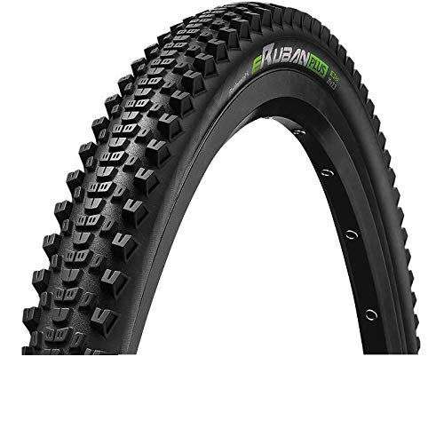 Continental Unisex's eRuban Plus Tires, Black/Black Skin Reflex, 29 x 2.60
