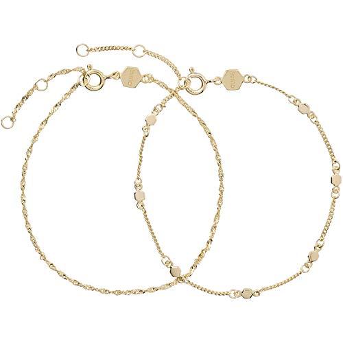 CLUSE Damen-Gliederarmbänder Vergoldet CLJ11019