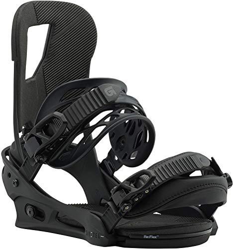 Burton Herren Cartel Black Matte Snowboard Bindung, M