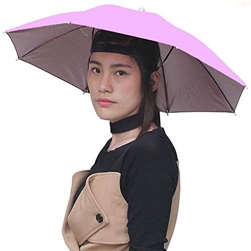 SJZS Paraguas Plegable Paraguas Sombrero...