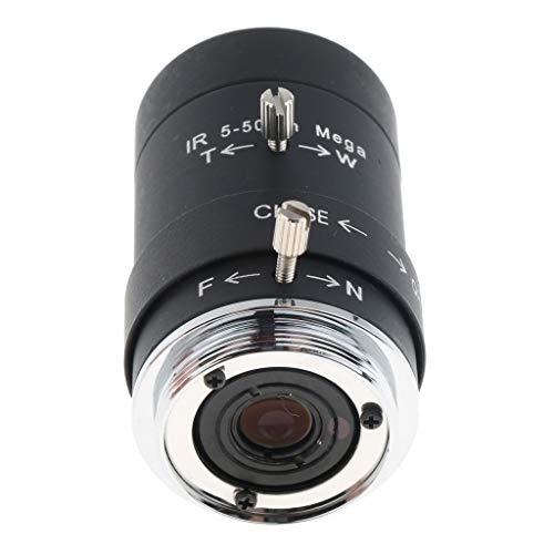 5-50mm 可変焦点 アイリスレンズ 1 3インチ F1.6 Cマウント CCTVレンズ 防犯・監視カメラ用