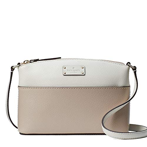 """Capital Kate jacquard lining; interior slip pocket Crossbody with zip top closure; adjustable shoulder/crossbody strap with 22"""" drop Approximate dimensions: 6.1"""" H x 8.7"""" W x 3"""" D"""