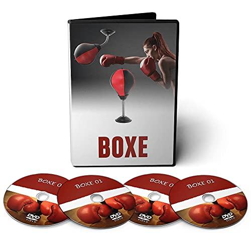 Curso Aprenda a Lutar Boxe - Várias Técnicas em 06 DVDs Videoaula