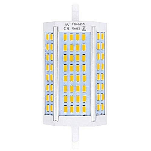 Luxvista R7S 30W J118 Dimmable Ampoule LED Doublé Extrémités Projecteur 118mm, équivalent 300-350W R7S Ampoule Halogène, Lumière du Jour 4000K(Lot de 1)
