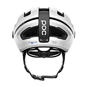 POC, Omne Air Spin Bike Helmet for Commuters and Road Cycling, Lightweight, Breathable and Adjustable, Hydrogen White, Large