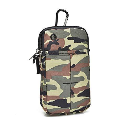 Running Mobile Phone Arm Pack - Handgelenkstasche, Camouflage Arm Bag, Multifunktion, Outdoor-Sport-Armmanschette, Armband, Mit Kopfhöreranschluss, Yoga, Fitnessstudio, Laufen, Joggen, Laufen, Wandern