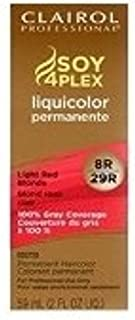Clairol Professional Liquicolor 8R/29R Light Red Blonde, 2 oz (Pack of 2)