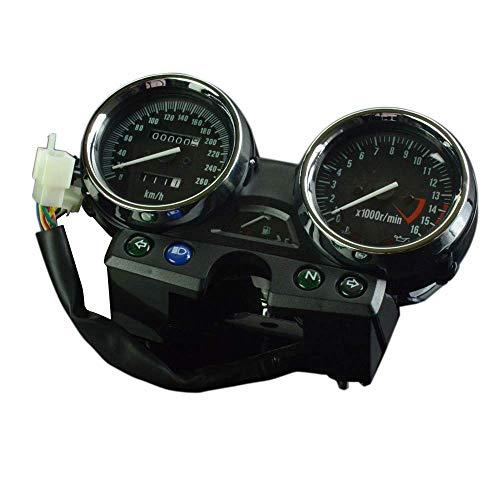AnXin Motorrad 260 Tachometer Kilometerzähler Instrument Tachometer Gauge Cluster Meter für Kawasaki ZXR400 750 1100 1200 1994-1997