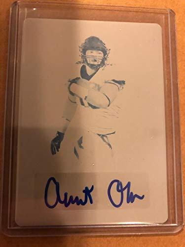 2020 Leaf Metal Draft Autograph Rainbow Prismatic Printing Plates Cyan Football S1#BA-AO2 Albert Okwuegbunam Auto Missouri Tigers Official Player Licensed Rookie Card