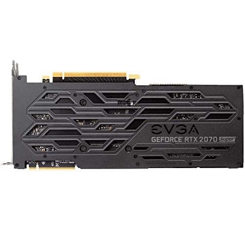 SCHEDA EVGA GeForce RTX 2070 SUPER XC GAMING, 8 GB GDDR6, Doppie Ventole HDB, LED RGB, Backplate in metallo, 08G-P4-3172-KR