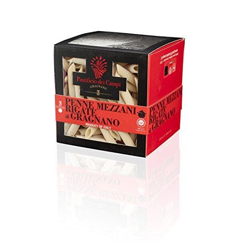 Penne mezzani rigate von Gragnano IGP - 2 falle von 500 gr