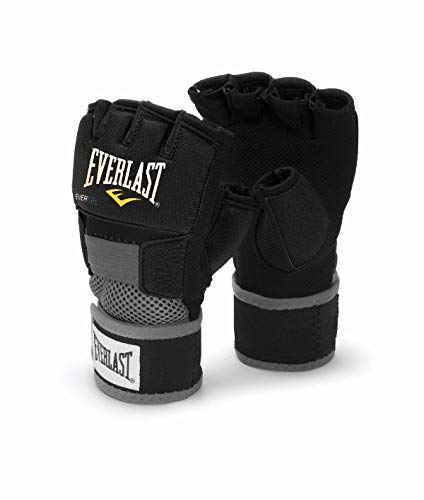Everlast 4355BL Hand Wrap, Large(Black)