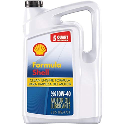 Formula Shell Conventional 10W-40 Motor Oil (5 Quart, Single Pack)
