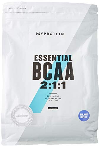 MyProtein BCAA 2:1:1, Blue Raspberry, 1kg