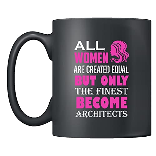N\A Tazas de café de Arquitecto - Taza de té de Arquitecto Taza de diseño Fresco Regalo de 11 oz para la Familia de Amigos