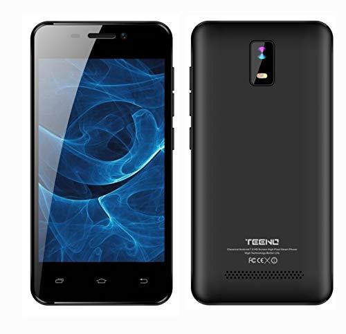 """Smartphone 4.0"""" HD IPS Téléphone Portable Débloqué 4G 1Go RAM 8Go ROM (Android Double SIM Slot Double Caméras Quad Core) Noir"""