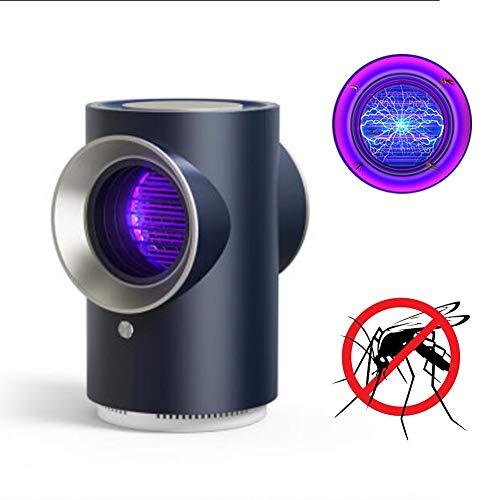 TRFBC Anti-Mückenlampe,Ventilator Photokatalysator Strahlungsfrei Stumm Geruchlos UV Insektenfalle,Kann für Babys und Schwangere Frauen Verwendet WerdenBlack