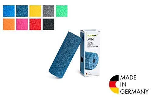 BLACKROLL® MINI Faszienrolle - das Original. Die kleine Selbstmassage-Rolle für die Faszien in blau