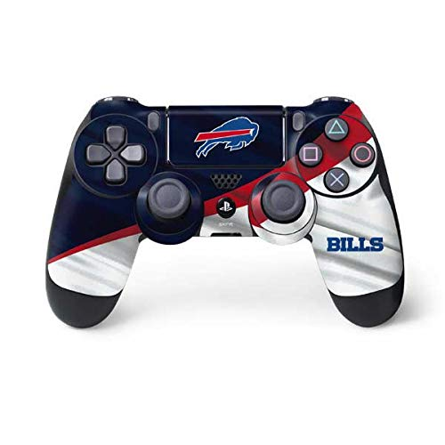 Skinit Decal Gaming Skin for PS4 Controller - Officially Licensed NFL Buffalo Bills Design