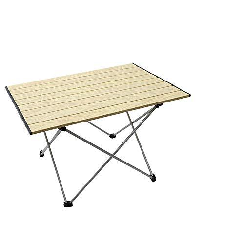 Portatiles Plegable Ultraligero Mesa de Camping,con Bolsa de Transporte,MáS Duradero Y Estable,Playa Picnic Camping Jardín al Aire Libre -Grande