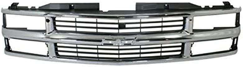 Koolzap For Chevy C/K Pickup Truck Fullsize Grill Grille Assembly Chrome GM1200238 15981106