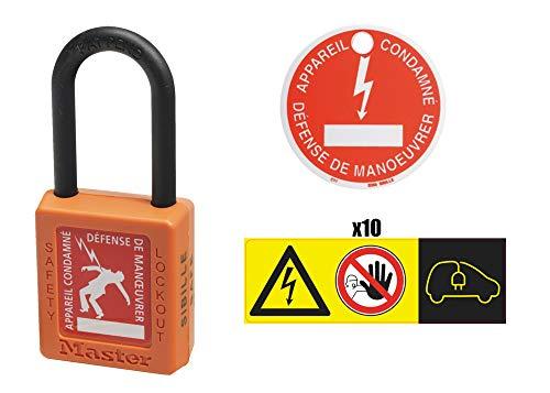 KS Tools 117.1433 117.1433-Kit Consignation pour remorquage de véhicule Hybride et électrique