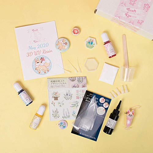 craft subscription boxes Craft Kitsune - Craft Kit Subscription Box for Adults