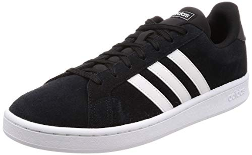 Adidas Grand Court, Zapatillas de Tenis para Hombre, Negro (Negbás/Ftwbla/Ftwbla 000), 46 EU