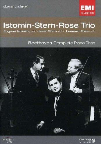 Istomin-Stern-Rose Trio - Beethoven, Ludwig Van: Klaviertrio 1-7 [2 DVDs]