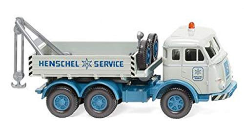 Wiking 063408 Abschleppwagen (Henschel) Henschel Service - Kein Spielzeug!! Miniaturmodell/Sammlerartikel !!