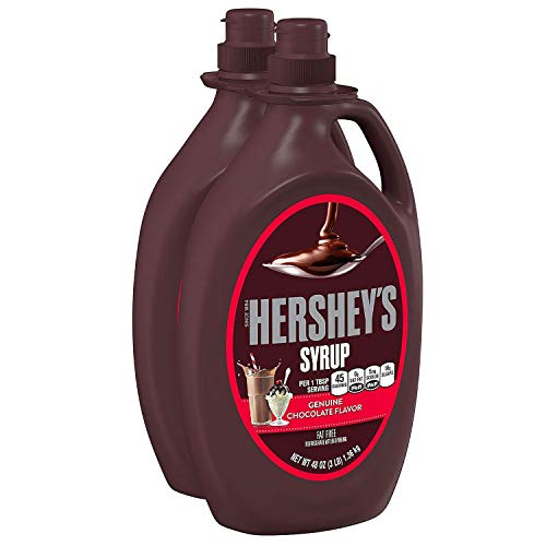 Hersheys 2-48 Oz Genuine Chocolate Flavor Syrup, 96 Oz California