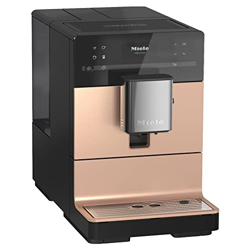 NEW Miele CM 5510 Silence Automatic Coffee Maker & Espresso Machine Combo, Rose Gold Pearl Finish - Grinder, Milk Frother