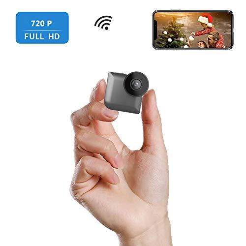 Oollifeng 720P HD Mini WiFi binnencamera met nachtzicht en externe verbinding van IP-camera's binnen en buiten voor iPhone/Android Phone/iPad