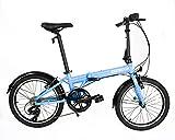 "Best Folding Bikes - Zizzo Via 20"" Folding Bike-Lightweight Aluminum Frame Genuine Review"