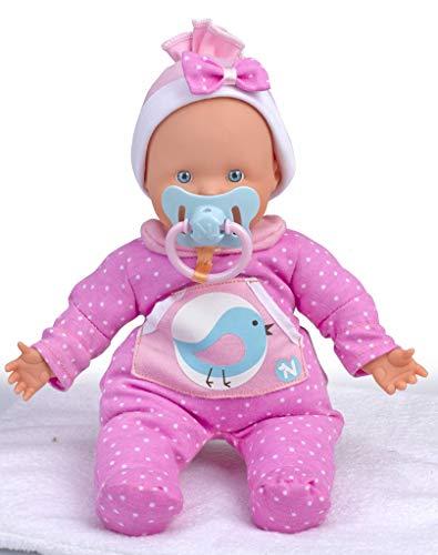 Nenuco Famosa 700012663 Bambola Che Piange, 30 cm, Rosa